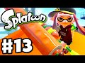 Splatoon - Gameplay Walkthrough Part 13 - Keep Rollin'! (Nintendo Wii U)