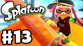 Splatoon - Gameplay Walkthrough Part 13 - Keep Rollin'! (Nintendo Wii U)