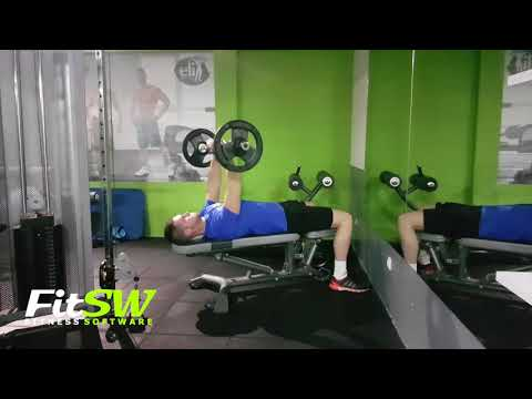 Close-Grip EZ-Bar Press: Arms, Tricep Exercise Demo How-to