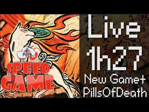 Speed Game: Live Okami HD en 1h27