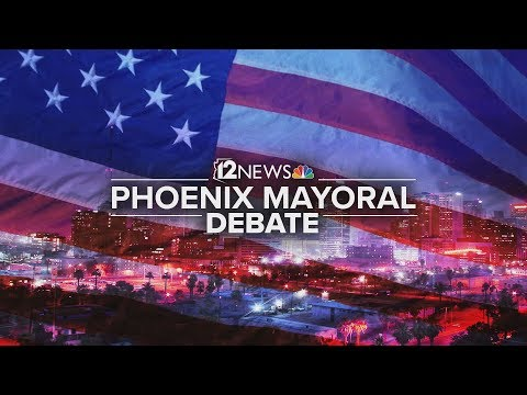Phoenix Mayoral Candidates Discuss Legalizing Marijuana And Arizona's Water Policies
