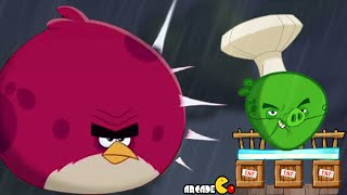 Angry Birds Under Pigstruction - BOSS LEVEL 100 CHEF PIG Chirp Valley Daily Event! iOS/Android