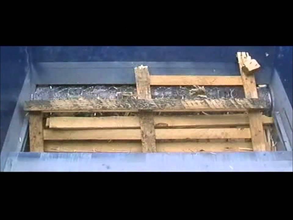 Broyeur de palettes youtube - Broyeuse a bois ...