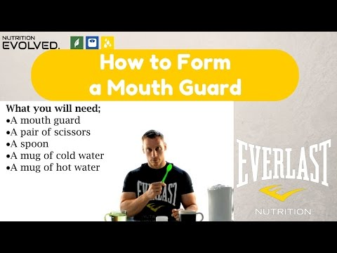 How to Form a Mouth Guard
