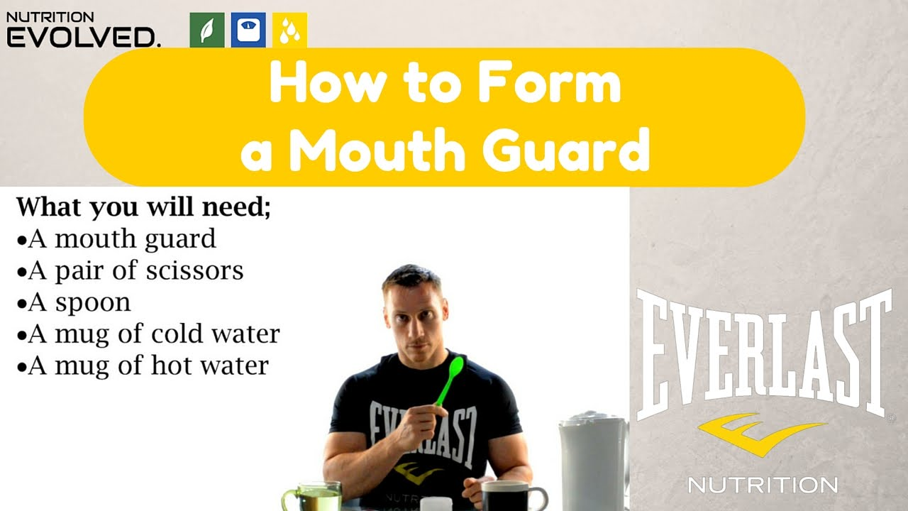 How to Form a Mouth Guard - YouTube