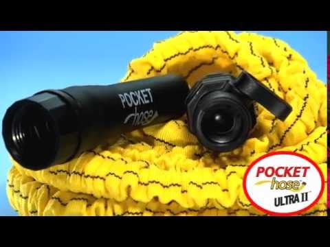 pocket hose ultra ii tuyau d 39 arrosage extensible best of tv youtube
