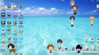 Free! Desktop Mascots // Shimeji Moeeee!!!