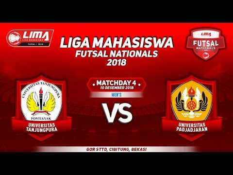 UNTAN VS UNPAD MENS LIMA FUTSAL NATIONALS 2018