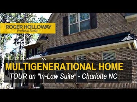 In Law Suite Multi Generational Living Charlotte Nc Homes For Sale