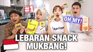 Download TRYING INDONESIAN LEBARAN SNACKS N KOREA FOR THE FIRST TIME! | Ft: Bianca Kartika and Fathan