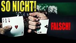 Betrügen beim POKER lernen (und andere Kartenspiele) - Kartentricks für Anfänger