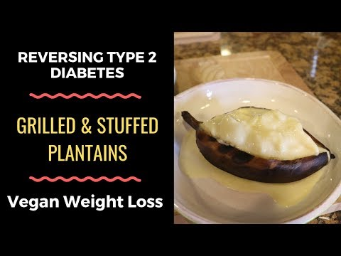 how-to-grill-plantains-wfpb-vegan-sugar-free-desert-recipe-for-weight-loss-&-diabetics-ripe-plantain
