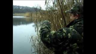 """Ловля Окуня на Мормышку с берега в межсезонье. """"О Рыбалке Всерьез"""" видео 39."""