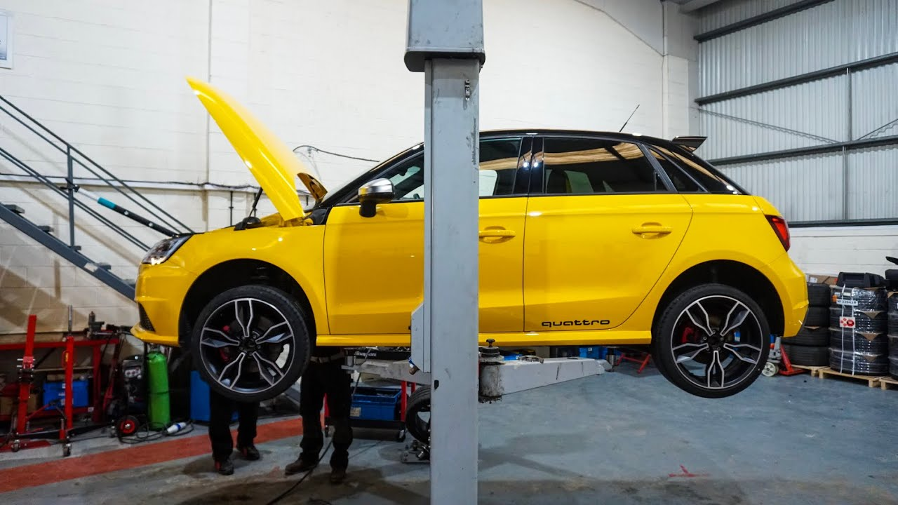 The Audi S1 Gets 310hp ABT Tune!