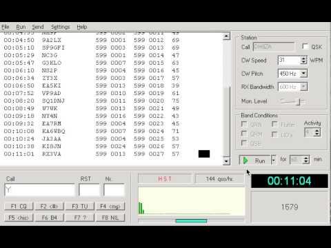 Morse Runner HST 30 Minutes (High-Speed Telegraphy)