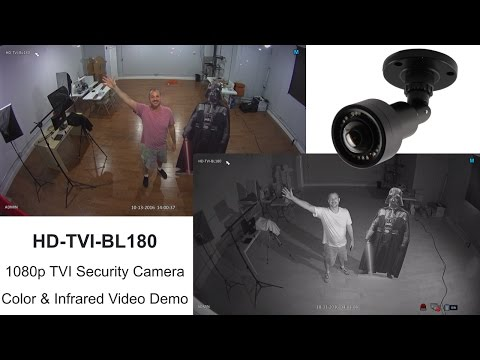 TVI Camera 1080p HD Video Surveillance with 180 Degree Lens