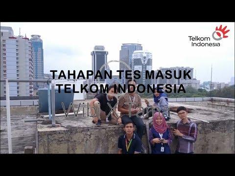 Tahapan Tes Masuk Telkom Indonesia (GPTP) : Web Recruitment