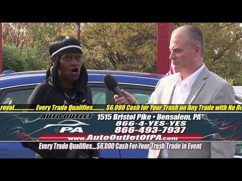 """""""$6,000 Cash For Your Trash Sales Event"""" November 2017 Auto Outlet of PA"""