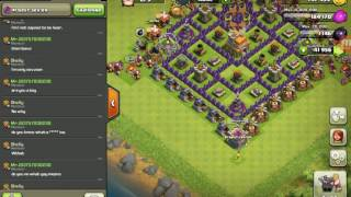 CLASH OF CLANS TROLLING FUNNY LITTLE KID EATS BROTHERS WEINER