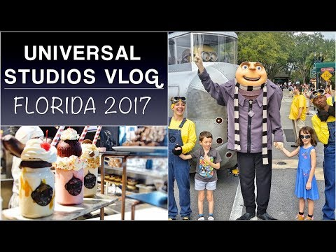 Orlando holiday PART 1: Universal Orlando Resort | Florida 2017