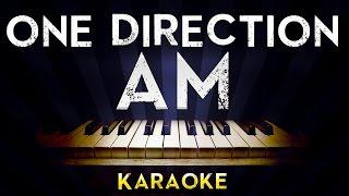 One Direction - AM | Lower Key Piano Karaoke Instrumental Lyrics Cover Sing Along