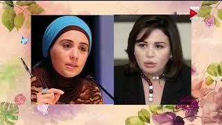 بالفيديو- هكذا ردت الداعية نادية عمارة على تشبيهها بإلهام شاهين