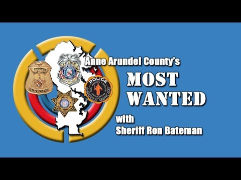 Anne Arundel's Most Wanted October 2017 Edition