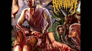 Kraanium - Orgy of Cannibalistic Fornication (Lyrics)