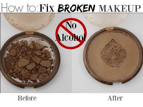 How to FIX BROKEN MAKEUP| NO Alcohol |Easy Makeup HACK |DIY