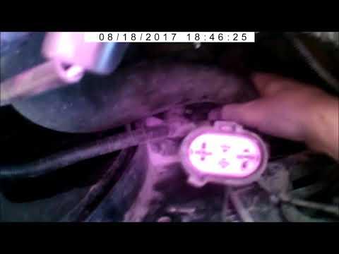 Ремонт скорости вентилятора охлаждения на шевроле Круз
