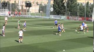El Real Madrid apuesta por el toque