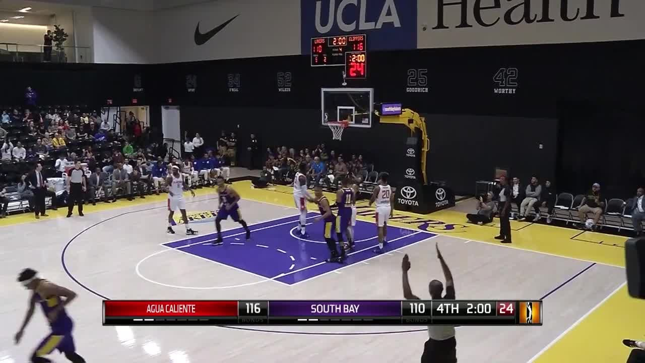 Scott Machado (22 points) Highlights vs. Agua Caliente Clippers