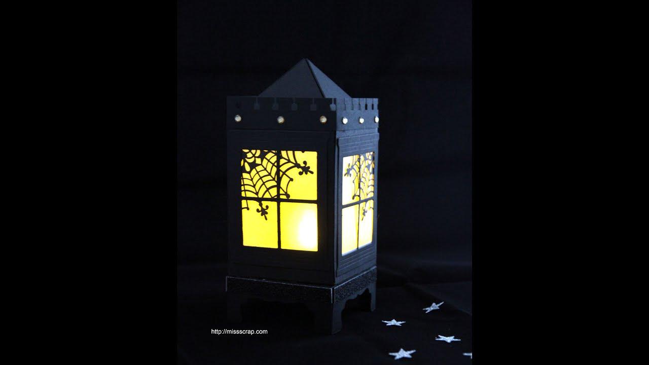 d couvrez une lanterne pour d corer votre table d 39 halloween youtube. Black Bedroom Furniture Sets. Home Design Ideas
