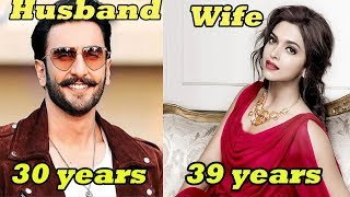 20 Shocking AGE Difference of Bollywood Couples | Indian Couple AGE GAP|Priyanka Chopra,Deepika