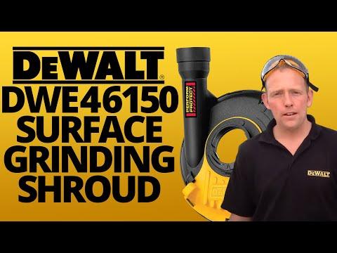 DeWalt DWE46150 surface grinding shroud - DEMO