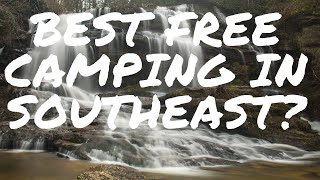 Best Free Camping in Southeast?
