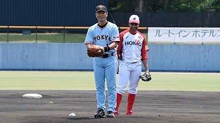 173勝の右腕健在 桑田真澄さんが始球式 thumbnail