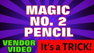 No. 2 Pencil Psychokinetic Mindreading Magic Trick