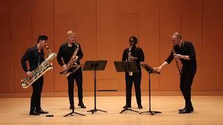 Schmitt: Quatour pour Saxophones, Op. 102, Mvt.  I