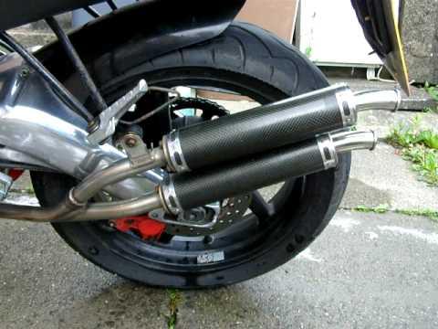 My Aprilia Rs125 Wiv Jim Lomas Twin Exhaust Cans Best