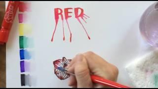 Marker Painting Techniques