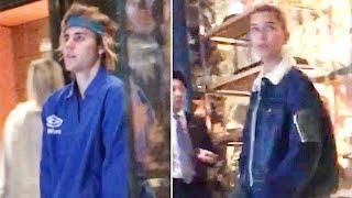 EXCLUSIVE - Newlyweds Justin Bieber And Hailey Baldwin Enjoying Married Life In London