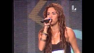 Esta imitadora de 'Shakira' encendió el set de Yo Soy
