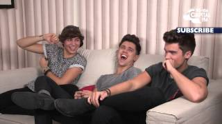 Union J - Truth or Dare Bloopers!