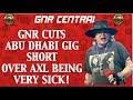 Guns N' Roses Abu Dhabi November 25, 2018 Concert Recap! Axl Very Sick!