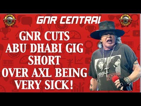 Guns N' Roses Abu Dhabi November 25, 2018 Concert Recap! Axl Very Sick! Mp3