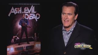 Брюс Кэмпбелл рассказывает о сериале Эш против Зловещих мертвецов by A.D.