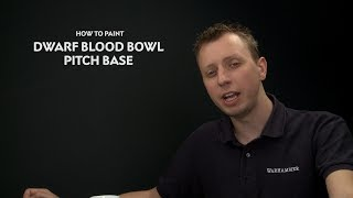 WHTV Tip of the Day - Dwarf Blood Bowl Pitch Base.