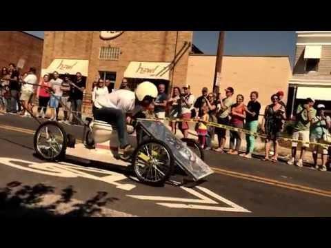 Hampden Fest Toilet Bowl Race 2014