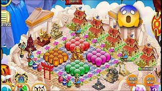 Dragon City - All My Dragon City Orbs: Green, Purple, Red, Golden Orbs on the Island